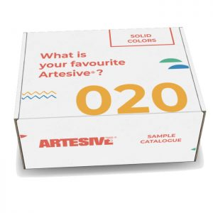 Artesive Sample Catalog 020 Solid Colours